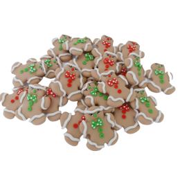 Apliques Gingerbread Biscuit Natal